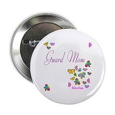 """Guard Mom Butterflies 2.25"""" Button (10 pack)"""