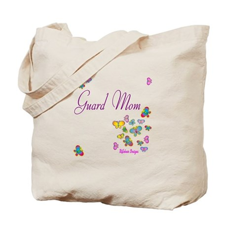 Guard Mom Butterflies Tote Bag