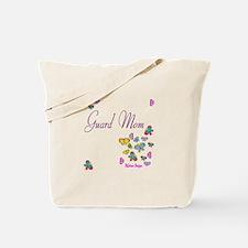 Guard Mom Butterflies Tote Bag