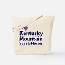 Kentucky Mountain Saddle Horses Tote Bag