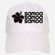 Samoan Hibiscus Baseball Baseball Cap