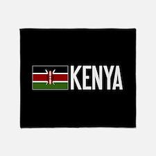 Kenya: Kenyan Flag & Kenya Throw Blanket