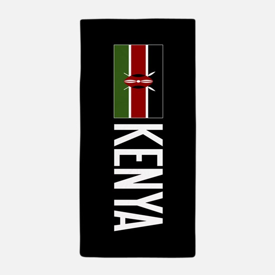 kenya kenyan flag kenya beach towel