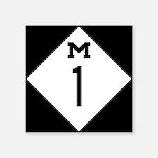 Michigan M1 Woodward Ave Sticker