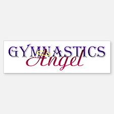 Gymnastics Angel Bumper Bumper Bumper Sticker