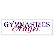 Gymnastics Angel Bumper Bumper Sticker