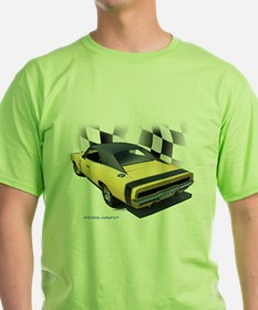 1970 Dodge Charger R/T Ash Grey T-Shirt