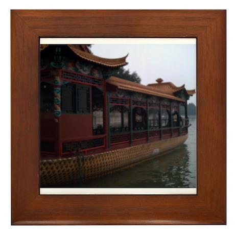China Views Framed Tile
