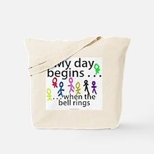 My day begins . . . Tote Bag