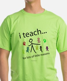 i teach ...little reasons T-Shirt