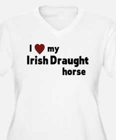 Irish Draught horse Plus Size T-Shirt