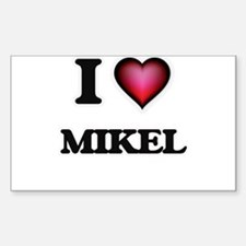 I love Mikel Decal