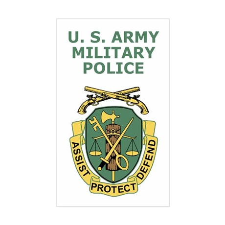 Army Military Police <BR>Vertical Sticker