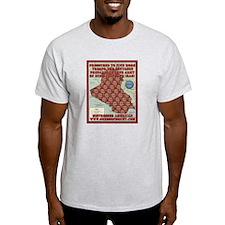 Bush Clones Ash Grey T-Shirt