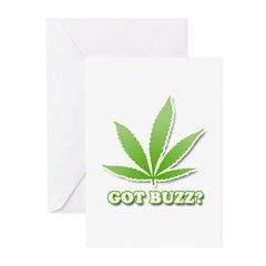 Got Buzz? Greeting Cards (Pk of 20)