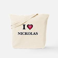 I love Nickolas Tote Bag