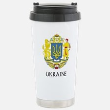 Cute Ukraine Travel Mug