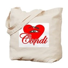 EYE HEART CONDI Tote Bag