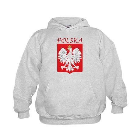 White Eagle and Polska Kids Hoodie