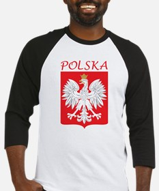 White Eagle and Polska Baseball Jersey