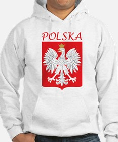 White Eagle and Polska Hoodie