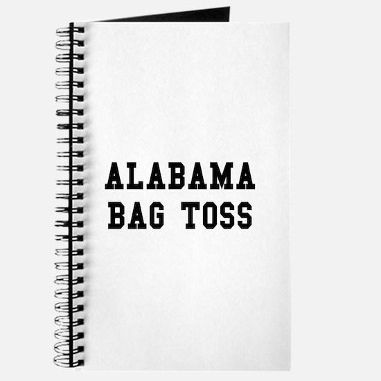 Alabama Bag Toss Journal