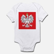 square polish eagle Infant Bodysuit