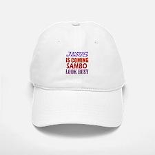 Jesus Is Coming Sambo Martial Arts Baseball Baseball Cap