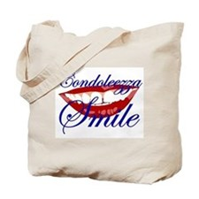 CONDOLEEZZA SMILE Tote Bag