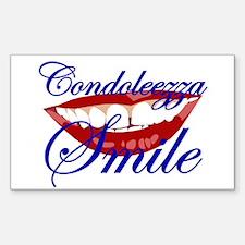CONDOLEEZZA SMILE Rectangle Decal