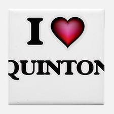 I love Quinton Tile Coaster