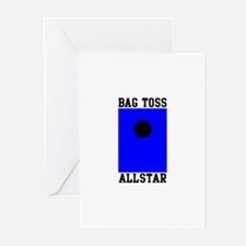 Bag Toss Allstar Greeting Cards (Pk of 10)