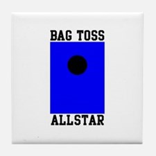 Bag Toss Allstar Tile Coaster