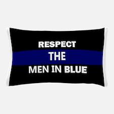 respect the men in blue Pillow Case