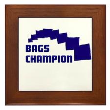 Bags Champion Framed Tile
