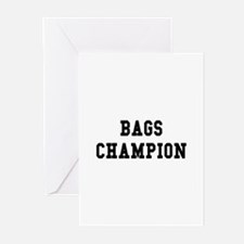 Bags Champion Greeting Cards (Pk of 10)