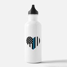 Thin Blue Line America Water Bottle