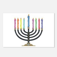 Cute Chanukah Postcards (Package of 8)