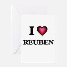 I love Reuben Greeting Cards