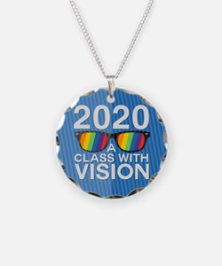2020 A Class With Vision, Rainbow Necklace