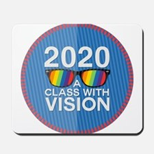 2020 A Class With Vision, Rainbow Mousepad