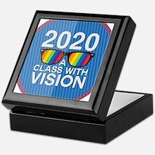 2020 A Class With Vision, Rainbow Keepsake Box