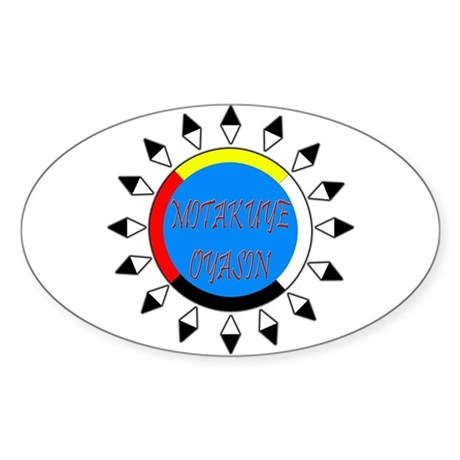 Mitakuye Oyasin Sticker (Oval)