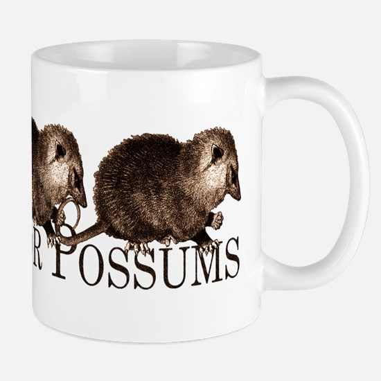 I Brake For Possums Mug