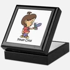 Flower Child Keepsake Box