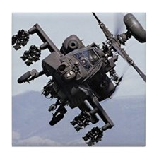 Apache Attack! Tile Coaster