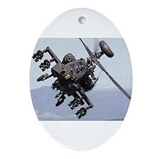 Apache Attack! Keepsake (Oval)