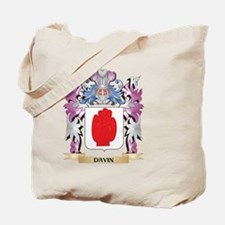 Davin Coat of Arms (Family Crest) Tote Bag