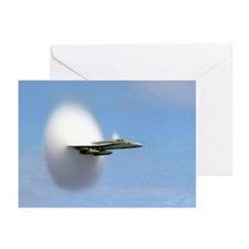 F18 Hornet - Sound Barrier Greeting Cards (Package