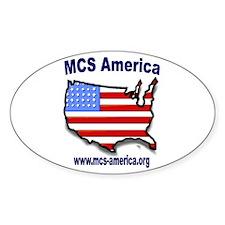 MCS America Logo Oval Decal